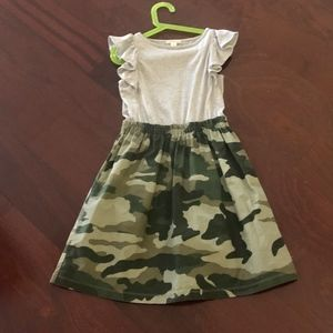 Crewcuts Camouflauge Play Dress size 8